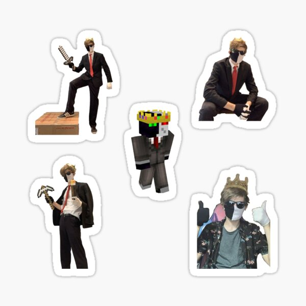 Ranboo Pack Perfect Gift Sticker