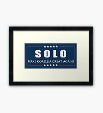 Han Solo 2016 Framed Print