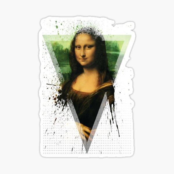 Mona Lisa - Leonardo Da Vinci Modern Sticker