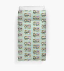 Vintage Greetings from Colorado Duvet Cover