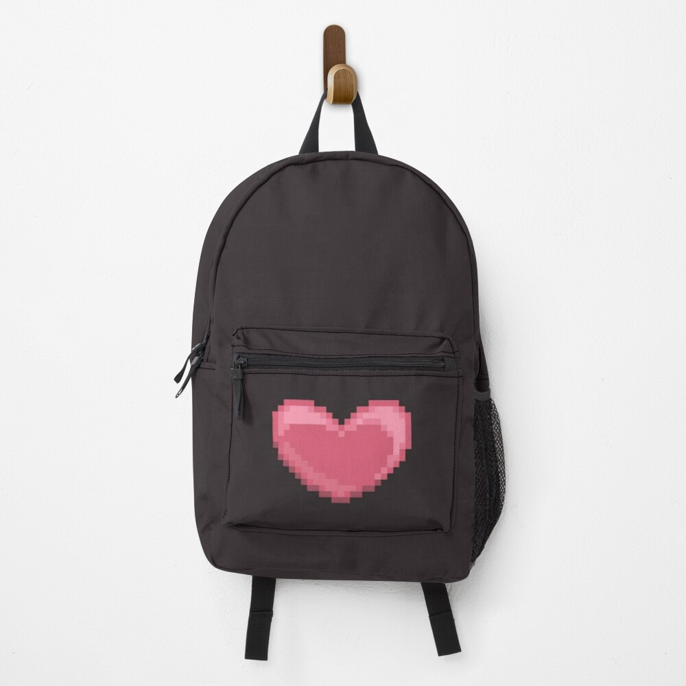 Pixel Heart Backpack
