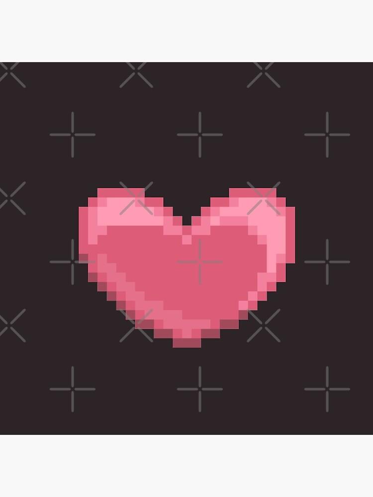 Pixel Heart by wingednaomi