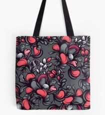Floral composition with wild berries. Tote Bag
