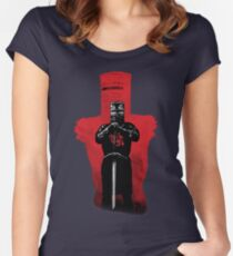 Invincible knight Women's Fitted Scoop T-Shirt