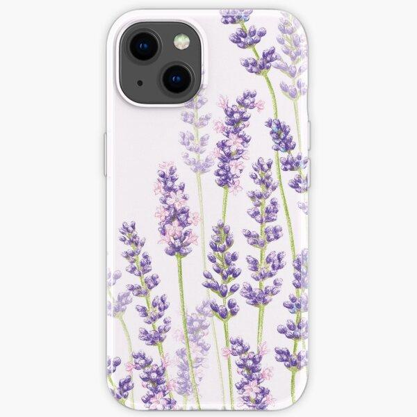 Lavender Fancy - Purple Flowers iPhone Soft Case