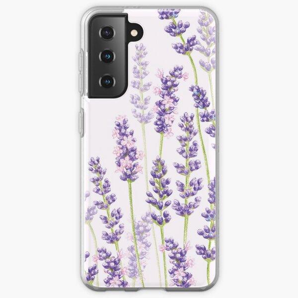 Lavender Fancy - Purple Flowers Samsung Galaxy Soft Case