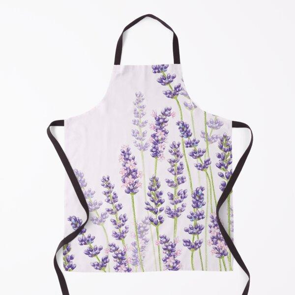 Lavender Fancy - Purple Flowers Apron