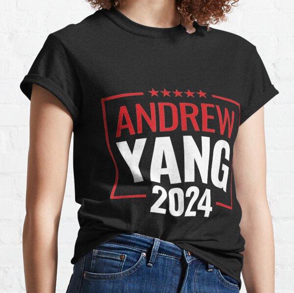 Andrew Yang 2024: #YANGGANG  Classic T-Shirt