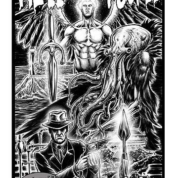 Hell Toupee by MontyBorror