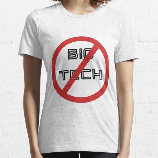 No Big Tech Essential T-Shirt