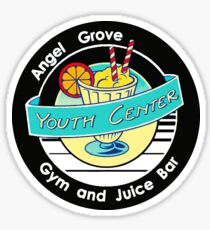 Angel Grove Youth Center - Gym & Juice Bar Sticker