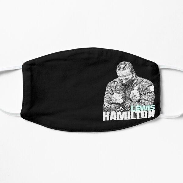 Lewis Hamilton - Croquis Poster Masque sans plis