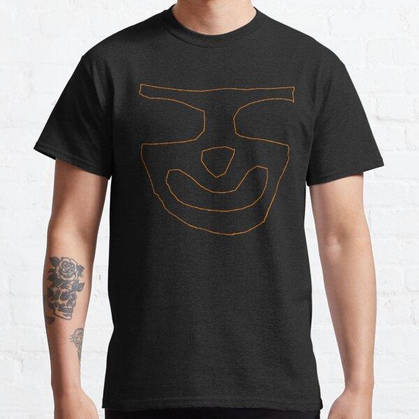 Tunnelmental Logo (Orange Outline) Classic T-Shirt