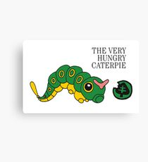 The Very Hungry Caterpie Canvas Print