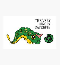 The Very Hungry Caterpie Photographic Print