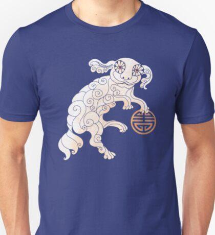 Long Life White Cloud Foo Dog T-Shirt