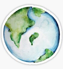 Artistic Earth Day  Sticker