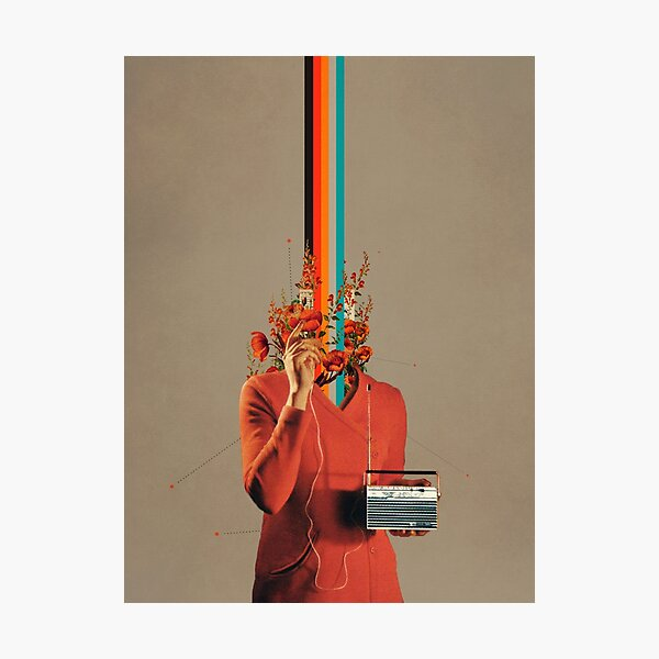 Musicolor Photographic Print