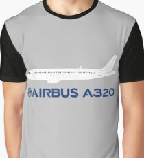 Airbus A320 Drawing Graphic T-Shirt