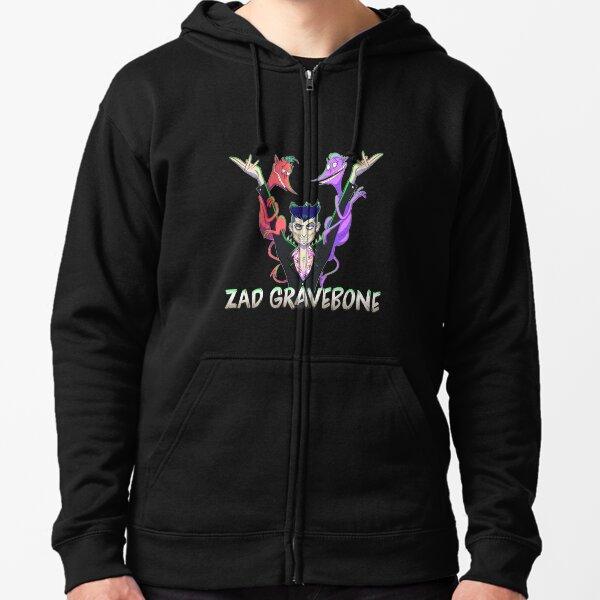 Zad Gravebone T-Shirt Zipped Hoodie