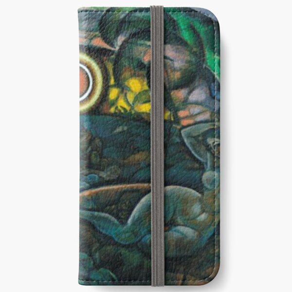 Hypnotic Painting iPhone Wallet