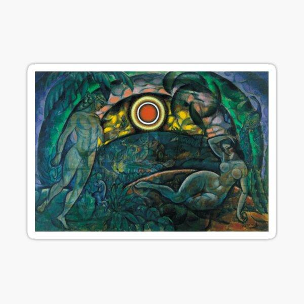 Hypnotic Painting Sticker