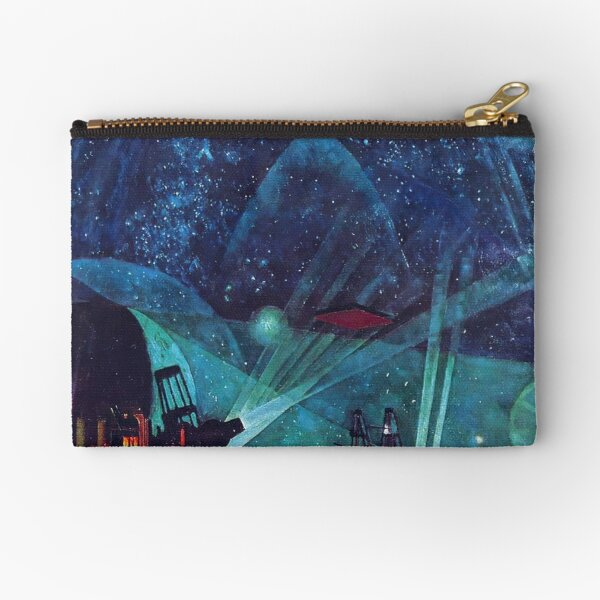Hypnotic Painting Zipper Pouch