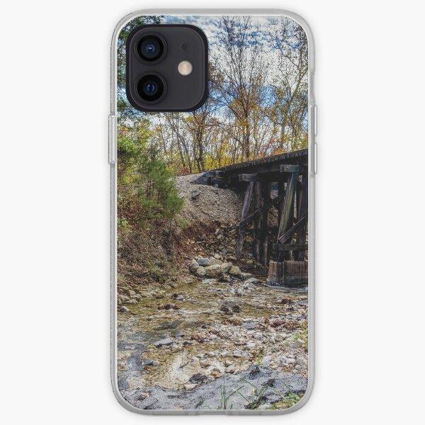Autumn Railroad Bridge iPhone Soft Case
