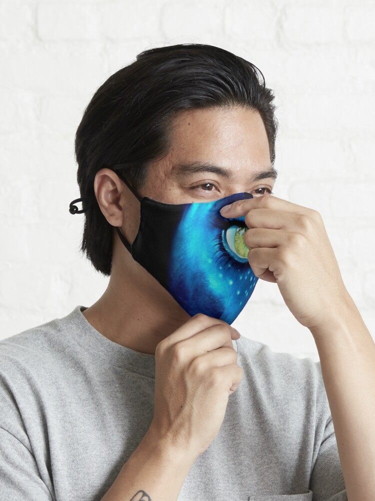 Alternate view of #justudioxnilayko #newcollection #newcolor Mask