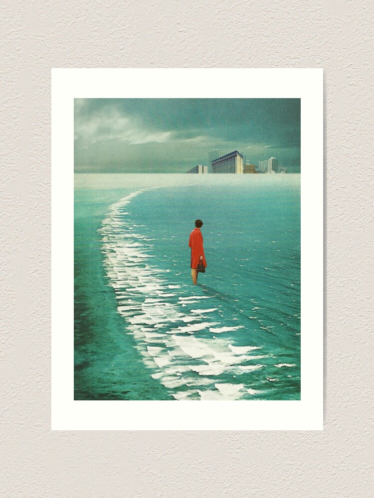Alternate view of Waiting For The Cities To Fade Out Art Print