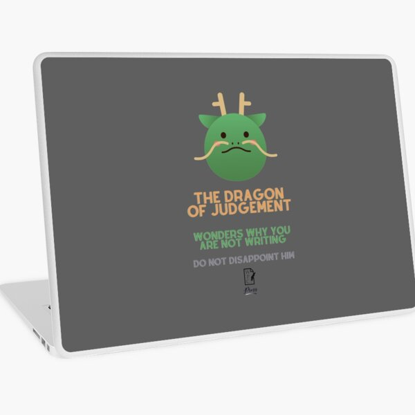 The Dragon of Judgement Laptop Skin