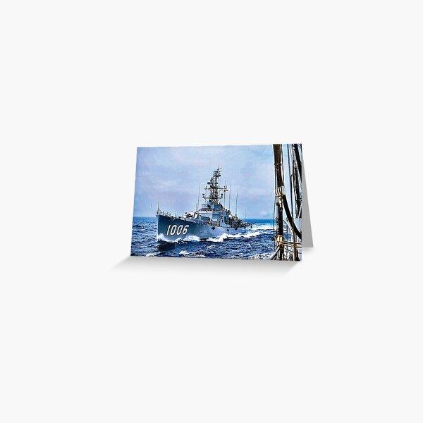 USS DEALEY (DE-1066) SHIP'S STORE Greeting Card