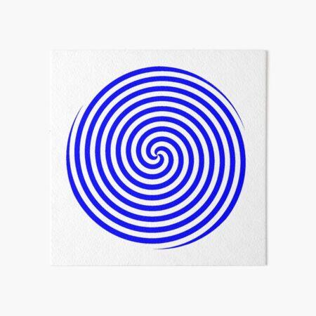 Hypnotic Spiral Art Board Print