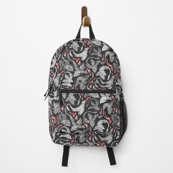Copy of Dragon fire dark pink & purple Backpack