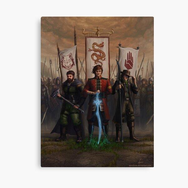 three Ta'veren Canvas Print