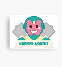Hammer Worthy Canvas Print