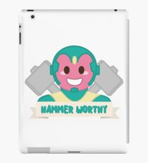 Hammer Worthy iPad Case/Skin