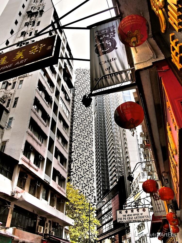 the streets of SoHo Hong Kong by LoveDutchArtEbs