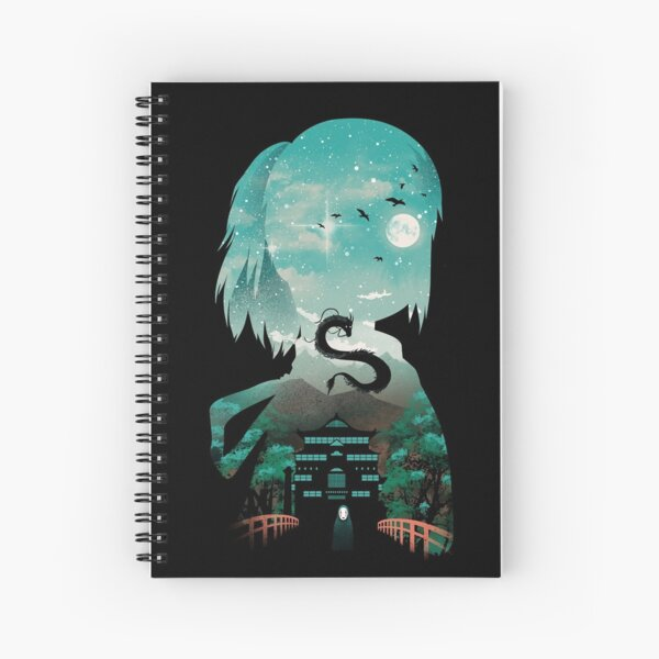 Silhouette Classic Anime Away Spiral Notebook