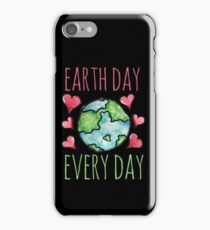Earth Day Every Day iPhone Case/Skin