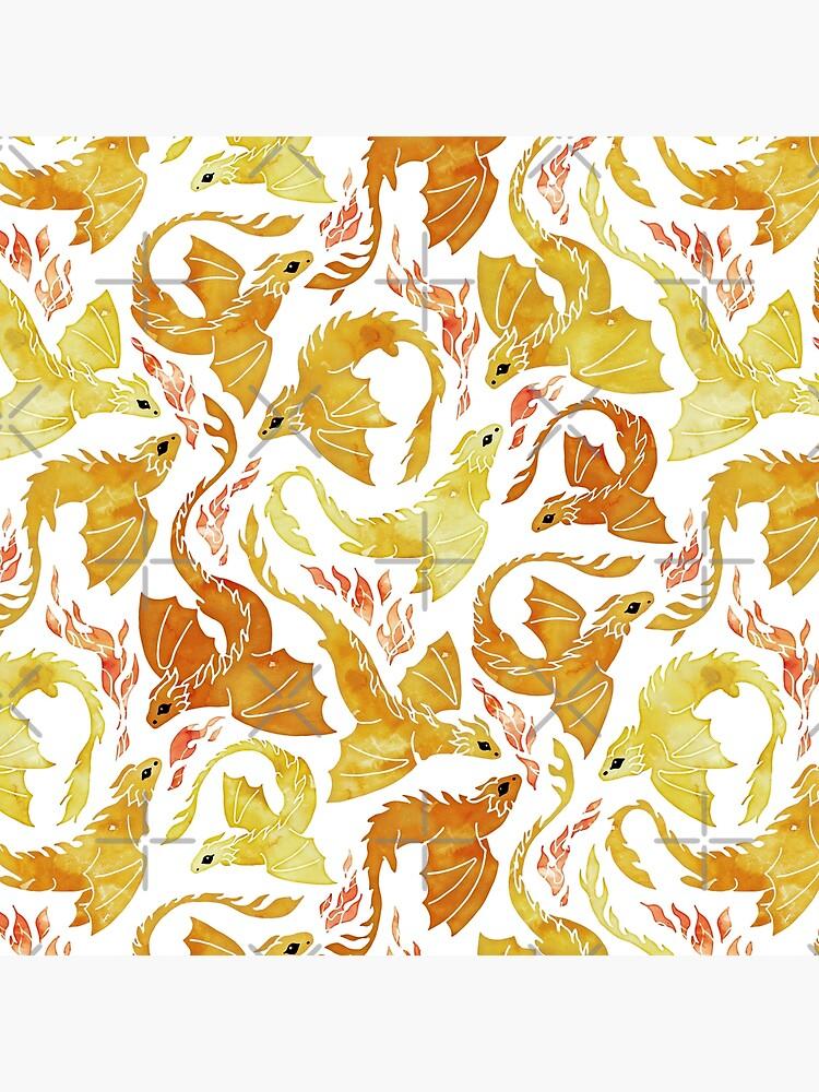 Dragon fire yellow by adenaJ