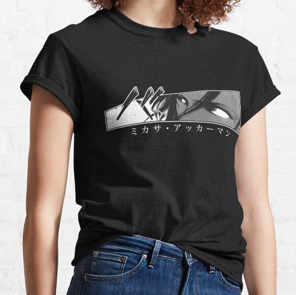 Mikasa - Stare - SnK T-shirt classique