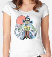 Jack Burton is in Big Trouble Women's Fitted Scoop T-Shirt
