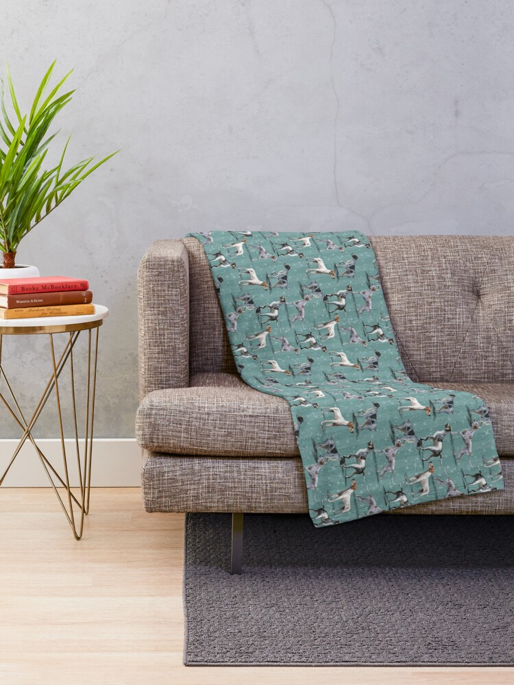 Alternate view of The Pointer Throw Blanket