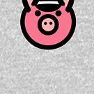Schwules Leder Schwein T-Shirt von toddalan