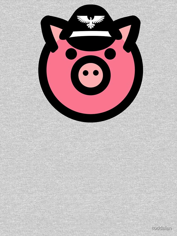 Gay leather Pig T Shirt by toddalan