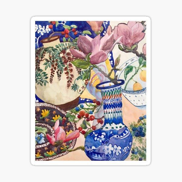 Watercolor decorative pattern Sticker