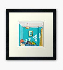 Colwyn Bay B&B, Wales Framed Print