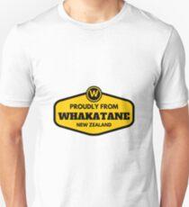 Proudly From Whakatane New Zealand T-Shirt