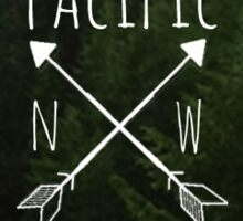Pacific NW Is Best  Sticker